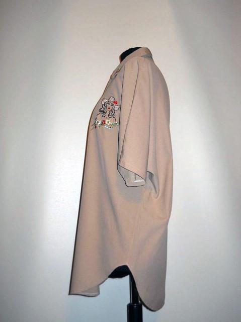 Camasa retro brodata anii '80