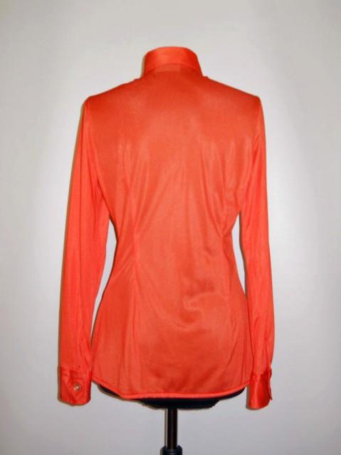 Camasa vintage nylon portocaliu anii '70