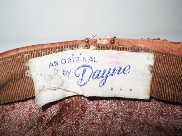 "Palarie vintage de ocazie ""Dayire"" anii '50"
