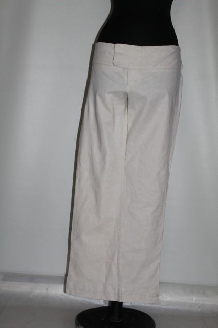 "Pantaloni crem ""Necessary Objects"" anii '90"