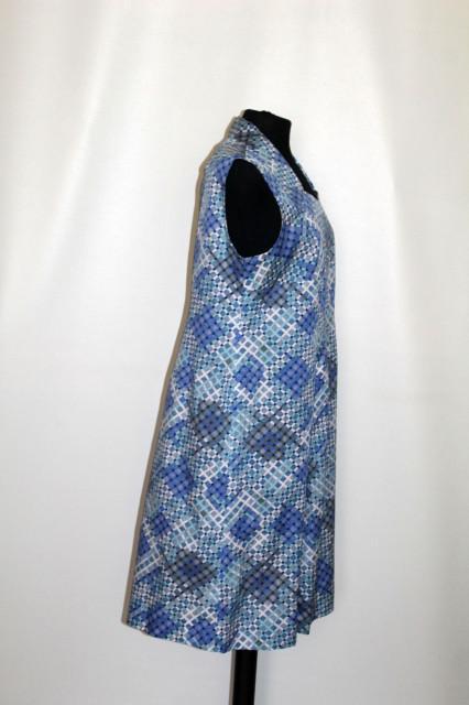 Rochie carouri albastre anii 70