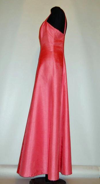 """Rochie de seara vintage roz """"Vera Mont"""" anii '70"""