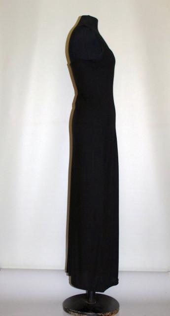 Rochie maxi neagră anii 90