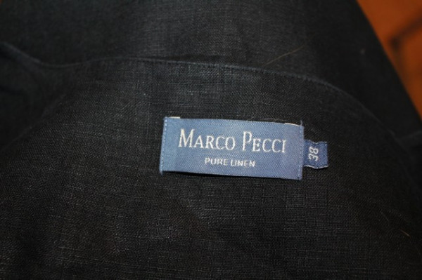 """Bluza din in """"Marco Pecci"""""""