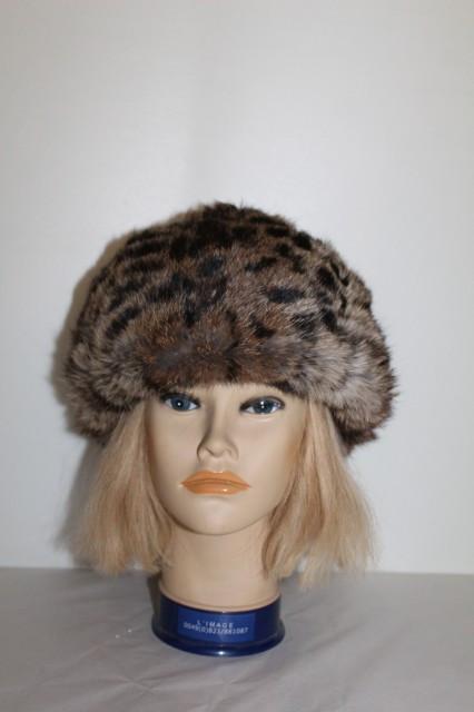 Caciula din blana de pisica salbatica anii '70