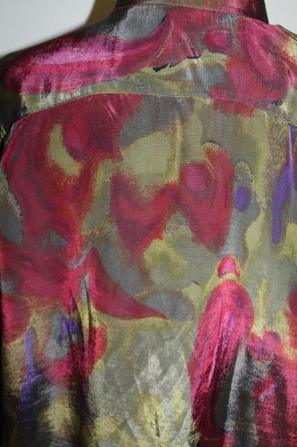 "Camasa din matase naturala ""Christian Dior"" anii '80"