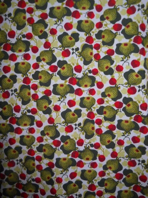 Camasa vintage print vegetal anii '70