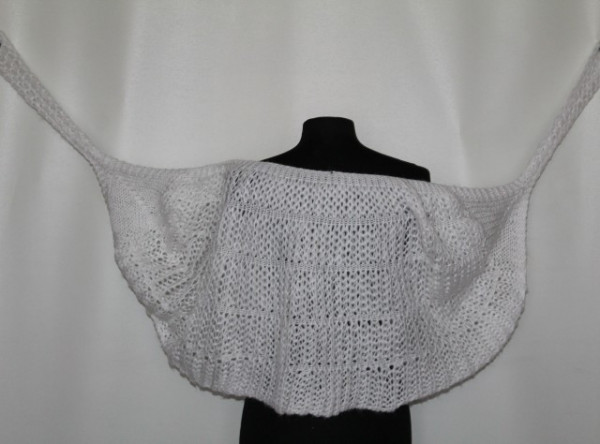 Capa din lana alba anii '60