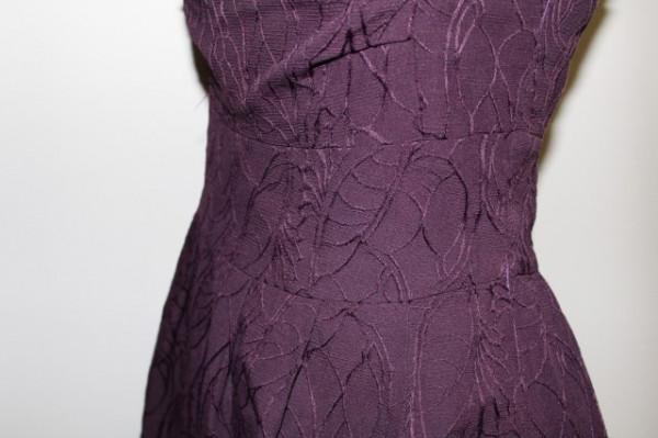 Rochie de ocazie violet repro anii '50