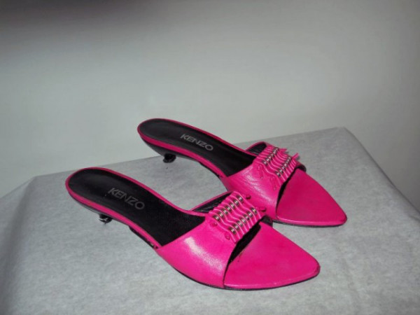 "Sandale roz ""Kenzo"""