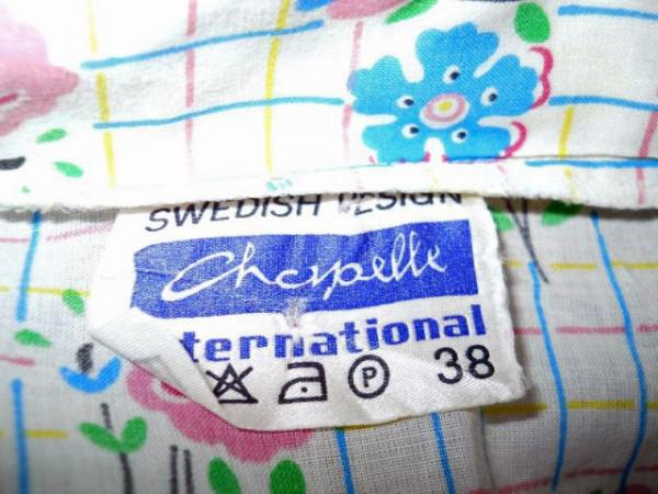"Camasa ""Chapelle International"" anii '70"