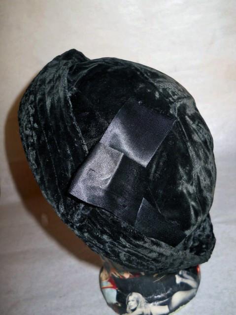 Cloche vintage asimetric anii '20