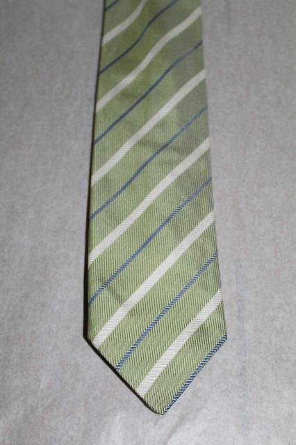 Cravată verde ou de rață Schild anii 70