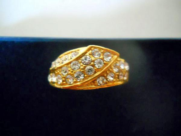 Inel placat cu aur anii '60