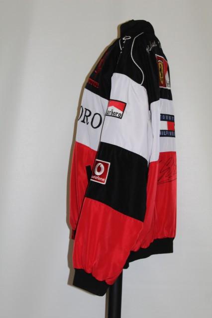 Jachetă Ferrari semnată de Michael Schumacher 1996