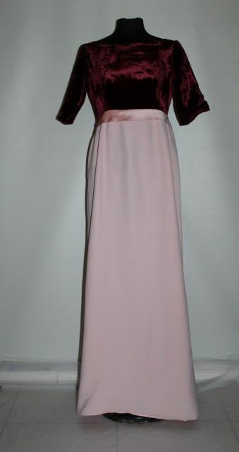 Rochie de seara vintage cu talie empire anii '60