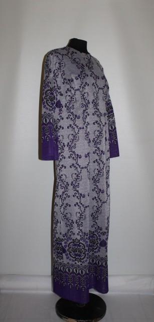 Rochie de seara violet model popular stilizat anii '60