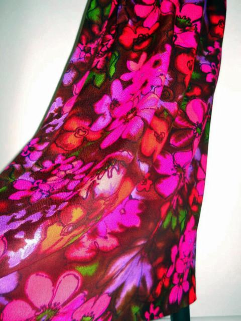 """Rochie hawaiana vintage """"Ke Ano Fashions"""" anii '70"""