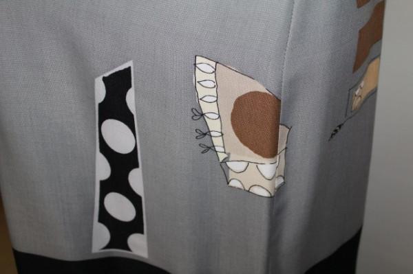 Rochie retro print minimalist anii '90