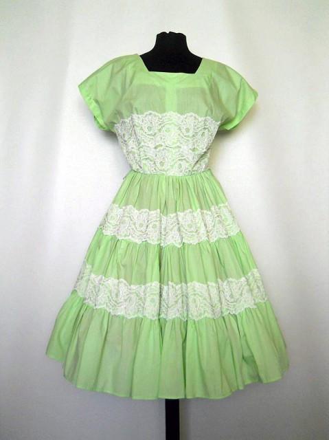 """Rochie vintage """"Bettina of Miami"""" anii '50"""
