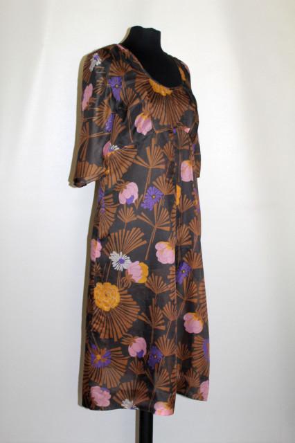 Rochie vintage din voal anii '70