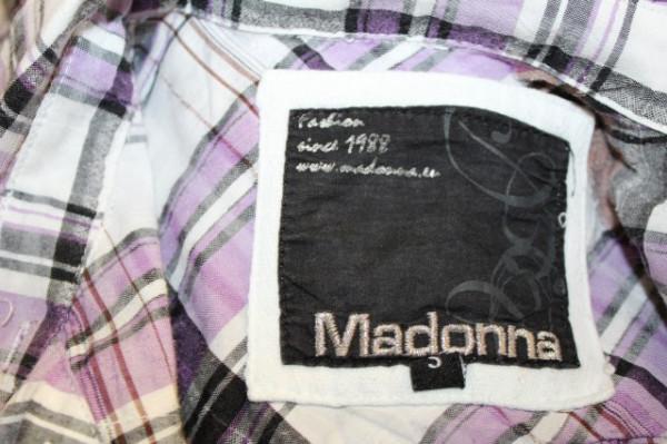 "Camasa carouri violet ""Madonna"""