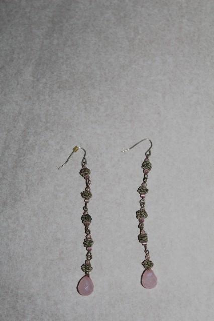 Cercei ornamente lila anii '90