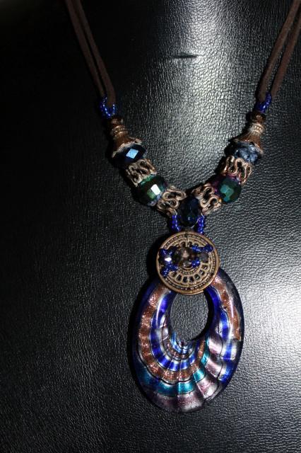 Colier ornament Murano