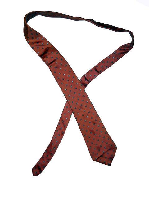 "Cravata vintage ""Yves Saint Laurent"" anii '70"
