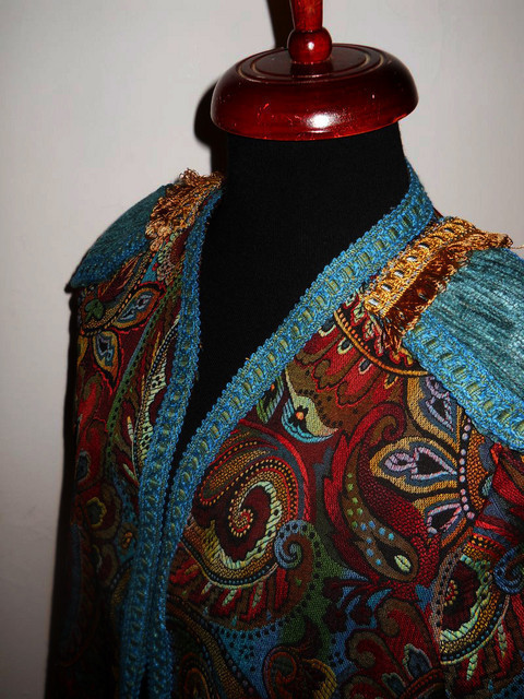 Deux pieces vintage stil matador anii '70