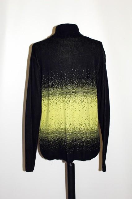 Pulover bicolor repro anii '70