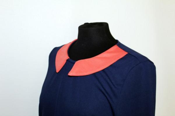 Rochie bicolora repro anii '60