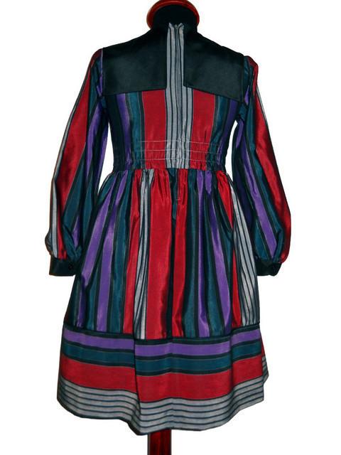 Rochie cu dungi si platca anii '60