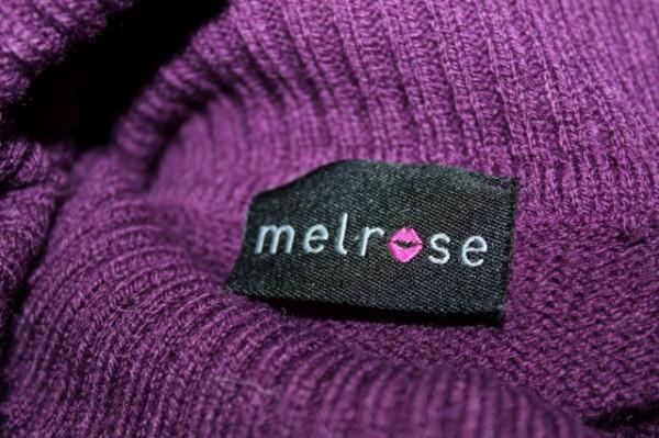 Rochie retro din tricot violet anii '90