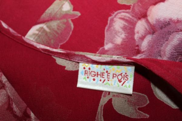 """Rochie retro """"Righe e Pois"""" anii '80"""