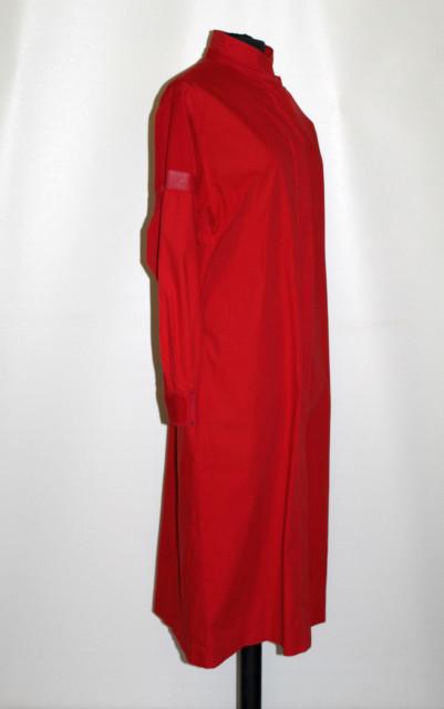 Rochie roșie Etienne Aigner anii 70