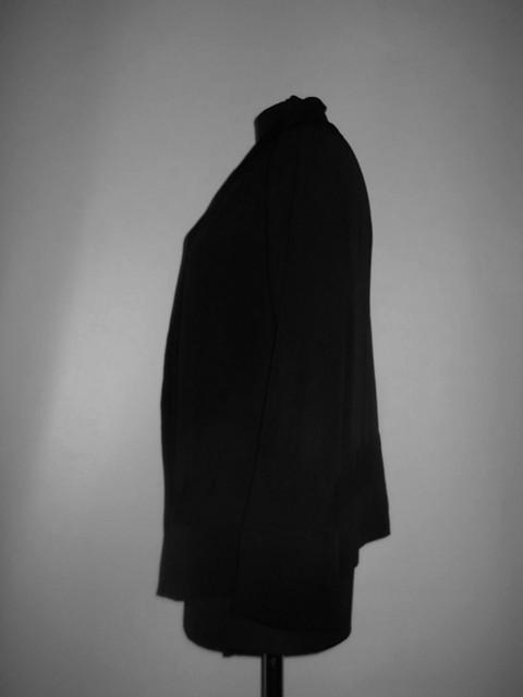 Bluza / jacheta antique neagra perioada edwardiana cca. 1910