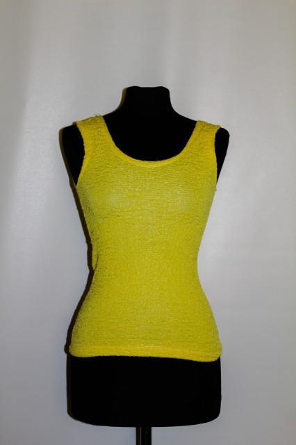 Bluza retro galben neon anii '80