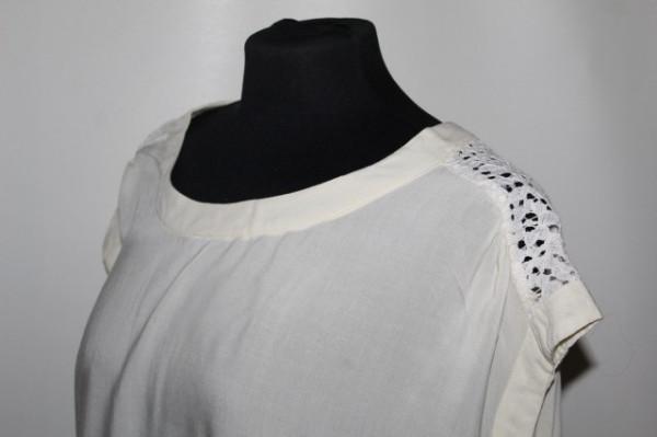 Bluza umeri din dantela repro anii '70