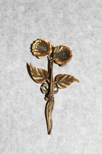 Brosa buchet floral perioada victoriana cca. 1870 - 1880