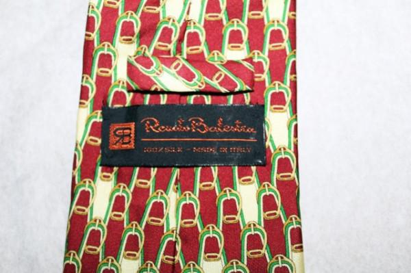 "Cravata ""Renato Balestra"" print curele anii '80"