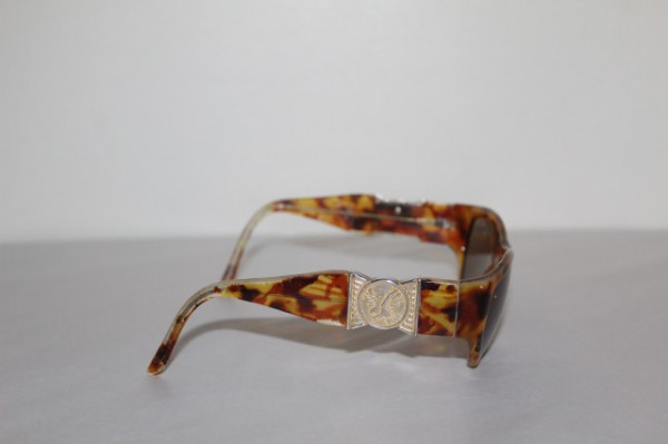 Ochelari de soare animal print si fundita anii '80