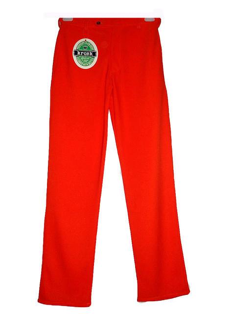 Pantaloni portocalii anii '60