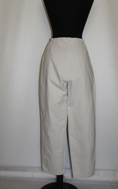 Pantaloni retro crem anii '80