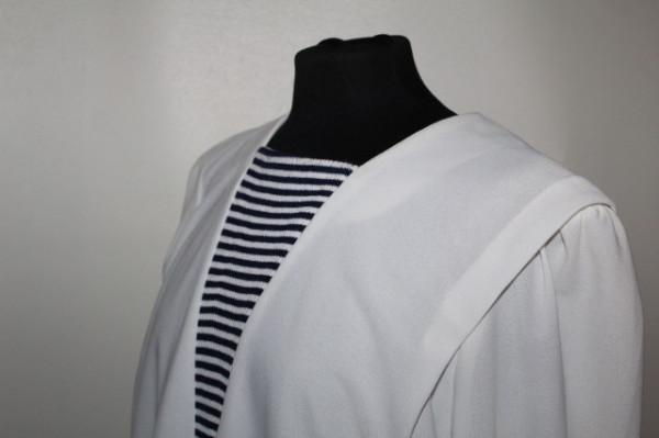 Rochie retro stil marinăresc anii 80