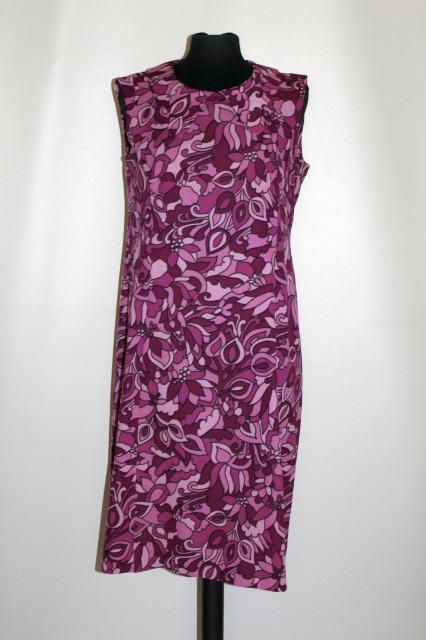 Rochie violet guler petale anii 60