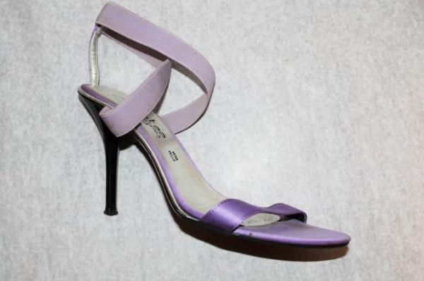 Sandale violet repro anii '70