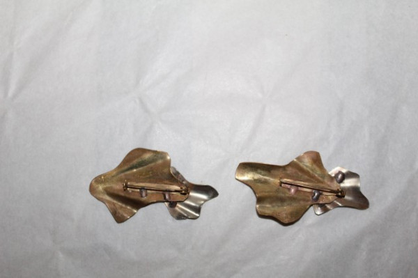 Set două broșe semnate Fabiar Art Deco anii 20