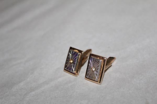 Butoni cristal central anii 70
