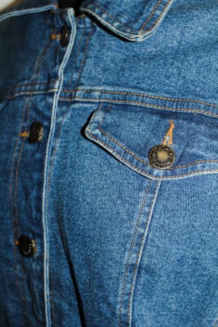 Jacheta clasica de jeans anii '80 - ' 90
